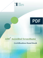 Accredited Scrum Master HandBook