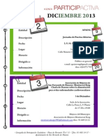 Agenda Participactiva Diciembre 2013