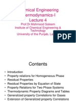 4-CE Thermodynamics Properties of Fluids