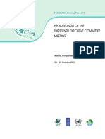 Proceedings of the Thirteenth Executive Committee Meeting