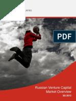 Russian Venture Capital Market OVerview 3Q 2013