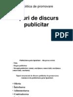 Tipuri de Discurs Publicitar