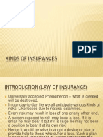 2 a Kinds of Insurances