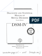 The DSM IV Introduction