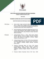 7.KMK No. 483 Ttg Pedoman Surveilans Acute Flaccid Paralysis (AFP)