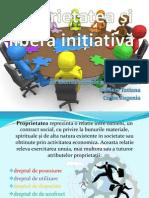 Proprietatea și libera inițiativă 2