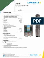 LORENTZ PS150 C-sj5-8 Pi en Ver3095