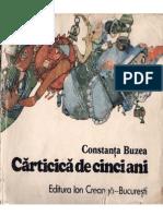 Carticica de Cinci Ani - Constanta Buzea