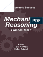 Psychometric Success Mechanical Reasoning - Practice Test 1