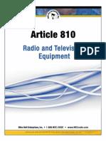 Radio & TV Eqpt Art 810 Download