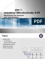 03 Bagian 1 Arsitektur AVR