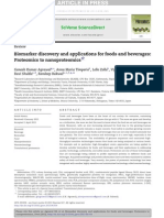 Biomarker Discovery and Applications for Foods and Beverages Proteomics to Nanoproteomics 2013