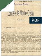Alexandre Dumas - Contele de Monte Cristo - Vol. 1