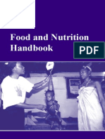 Food and Nutrition Handbook WFP