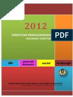 Direktori Perasuransian Indonesia 2012