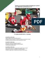 Ispitna pitanja i odgovori iz nastavnog predmeta Pružanje prve pomoći osobama ozlijeđenim u prome