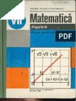 Cls 7 Manual Algebra 1988