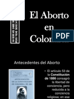 El Aborto en Colombia
