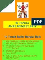 10 Tanda