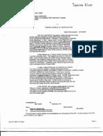 T7 B12 Flight 93 Calls- Toshiya Kuge Fdr- Entire Contents- 2 FBI 302s- No Familiy Inquries to UA Re Hijackers 431