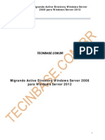 Migrando Active Directory Windows Server 2008 Para Windows Server 2012