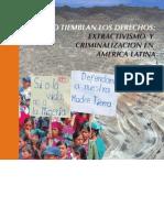 libro mineria extractivismo y criminalización OCMAL