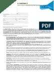 Web Site Design Contract