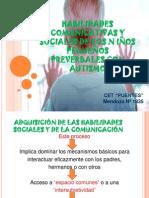 HABILIDADES COMUNICATIVAS Y SOCIALES DE LOS N IÑOS