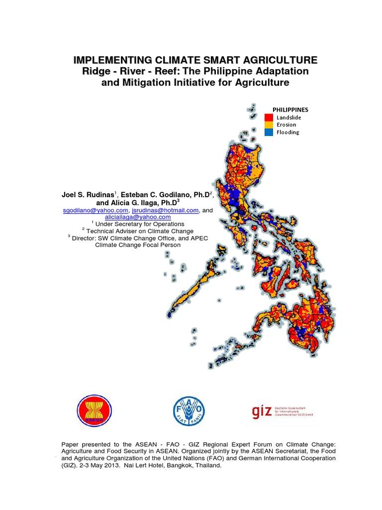 02-Philippine Paper GIZ Bangkok-1 | Agriculture | Climate