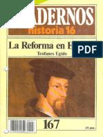 La Reforma en Europa (Cuadernos Historia 16 n.167) Teofanes Egido