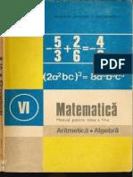 Cls 6 Manual Algebra 1989