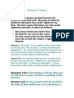 Blessings of Abraham