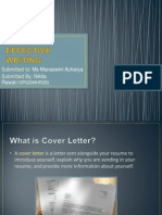 Effective Writing 13PGDMHR29