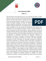 Acta da Reunião CMPC