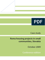 Roma Housing Case Study Slovakia En