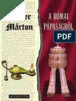 Luther Márton - A Római Pápaságrol