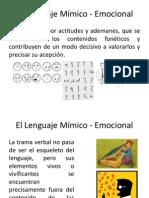 El_Lenguaje_Mímico_-_Emocional