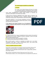 Reparos e Investigacao de Defeitos Automotivos