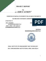 E-education Srs 12 (1)website documentation