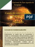 Canales de comercialización Cap. IX