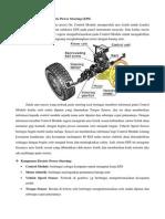 Cara Kerja Sistem Electric Power Steering (EPS)