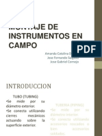 Montaje de Instrumentos en Campo