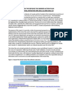 BTB Action Plan December 2013 Progress Report