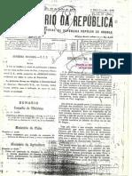 Decreto 231/79, de 16 de Julho - Sobre Disciplina do Trânsito Automóvel
