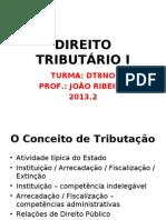 DIREITO TRIBUTÁRIO I - AULA1 - DT8NO