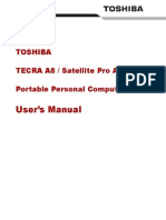 Toshiba Satellite Pro a 120 UserGuide