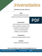 Globalizacion de Cemex Ensayo Cientifico