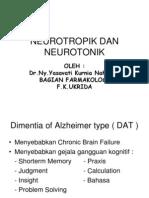 Neurotropik Dan Neurotonik