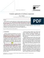 Catalytic Application of Niobium Compounds