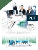 Legislacao Tributaria - Legislacao Tributaria Municipal - Especies Aplicacao Interpretacao e Vigencia - Jurisprudencia